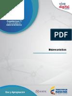 Mejores Practicas Modelo Uso y Apropacion de TI