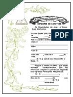 Form.314 - Diploma de Lowton