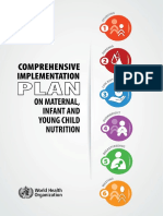 Comprehensive Implementation Plan on Maternal, Infant and Young Child Nutrition
