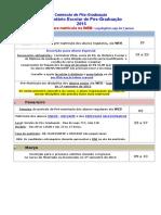 Calendário Escolar de Pós-Graduação 2015