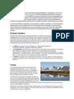 Biomas y Su Clima Etc