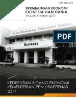 Laporan Perkembangan Ekonomi Indonesia Dan Dunia TW I 2017