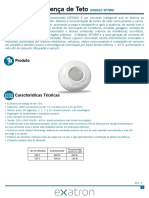 Manual Do Usuario Sensor de Presenca Teto 360 Embutir e Sobrepor 20160822111111