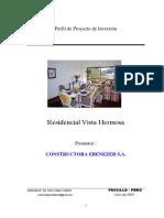 Perfil de proyecto de edificacion