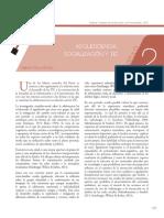 Adolescencia Socialización y Tic Rolando Pérez Sánchez