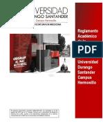 Reglamento Académico MEDICINA GENERAL