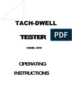 TACH DWELL Tester Instructions   Distributor   Ignition System on pro comp light installation diagram, jdm tach diagram, gm tachometer wiring diagram, jdm tachometer wiring diagram, super pro tachometer wiring diagram, auto meter tachometer wiring diagram, ford tachometer wiring diagram,