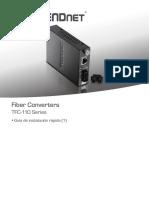 SP Web TFC-110series Fiber Converters