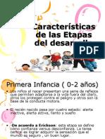 Caracteristicas de Las Etapas 2014