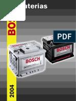 Catalogo Baterias BOSCH