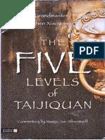 Chen Xiaowang--5 Levels of Taijiquan