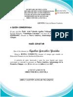 Carta de Conducta 0017 Ariel Valentin