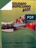 CONSOLIDADO AGROPECUARIO 2008