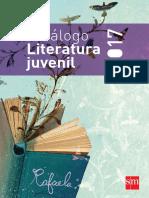 Catálogo de libros de Literatura Juvenil 2017 - SM