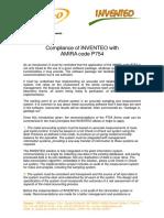 INVENTEO Amira Compliance