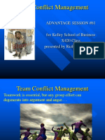 Team Conflict Resolution