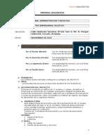 Memoria Descriptiva - Arquitectura - Version 15