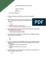 Cuestiionario Traducido- Auto Evaluacion Mcdonalds
