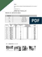 Tabla de Tubos Cuadrados Según Norma y Precios