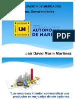 Generalidades Investigación de mercados
