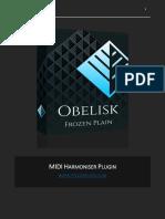 Manual midi obelisco