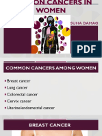 Common Cancers in Women Ppt