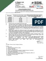 Promotional Data Offer for Plans Under Postpaid Mobile Services 76