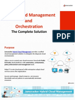 Hybrid Cloud Management and Orchestration
