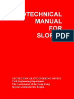 Geotechnical Manuals for Slope