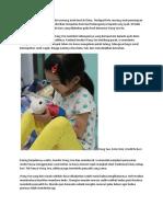 Kisah Mengharukan Datang Dari Seorang Anak Kecil Di China