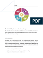 Dimensions of Sustainability