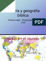 Historia y Geografía Bíblica