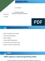 OOP ABAP DAY 1