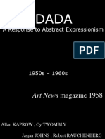 1 Neo Dada and Pop Art