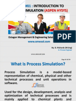 Introduction to Process Simulation (Aspen Hysys) OMESOL by D Richards (1)