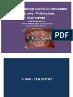 6-Mini-implant-miniscrews in Orthodontics-case Report-oussama Sandid- Mohamad Aboualnaser-Awatef Shaar-miniscrews Mini-implant en Orthodontie orthodontists dentists beirut lebanon usa france