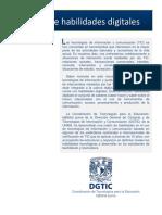 Matriz Habilidades Digitales 2014