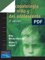 Wicks Nelson Rita - Psicopatologia del nino y del adolescente.pdf