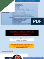 Transplantasi Ginjal Awam 65 Th FK USU Ppt