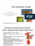 Antibiotic in Biliary Stone