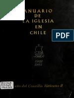 "Chile, ""Anuario de la iglesia en Chile (1962 - 1963)"""