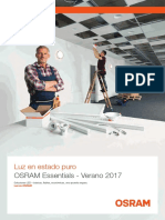 201708 Osram Catalogo Essentials Verano 2017