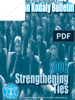 Australian Kodaly Bulletin 2006