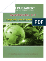 IAS Parliament Geo Environment- Full