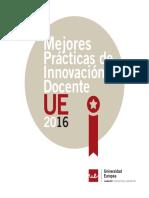 Mejores Prácticas Innovación Docente UE2016