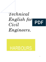 Technical English for Civil Engineers Harbours