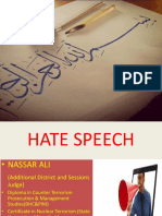 HATE SPEECH Presentation (2)