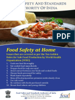 Food Safety at Home