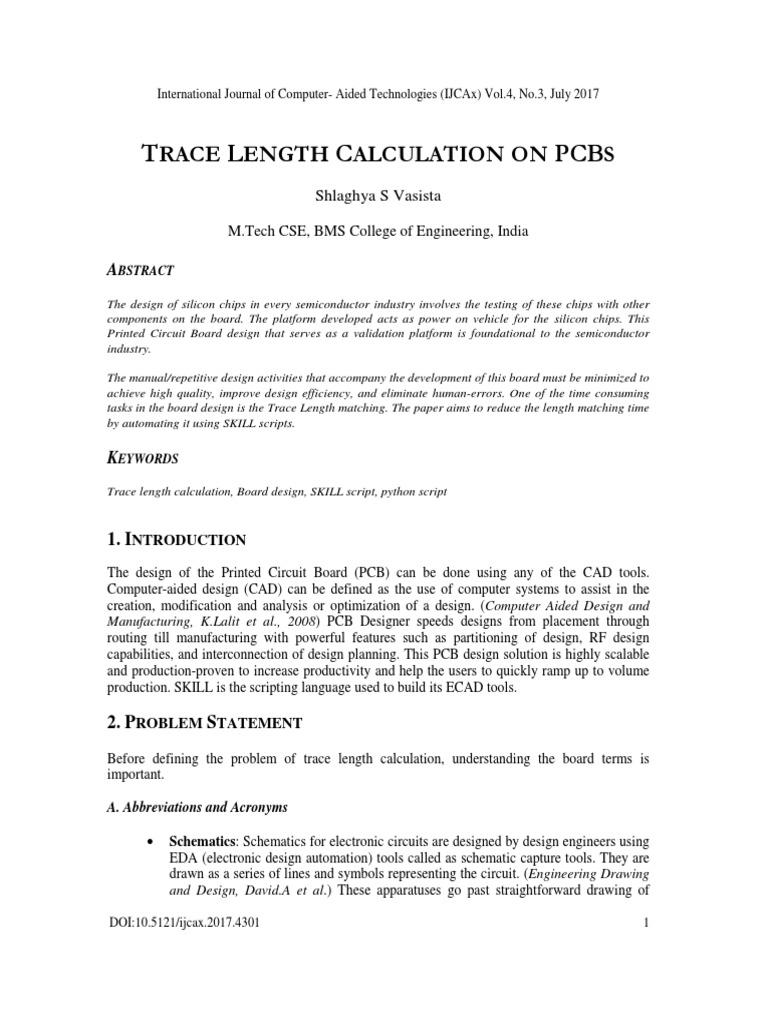 Trace Length Calculation On Pcbs Printed Circuit Board Electronics Assembly Pcba Of Ray Ming Technology The