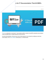 9 ITGlue Alternatives for IT Documentation That All MSPs Should Consider